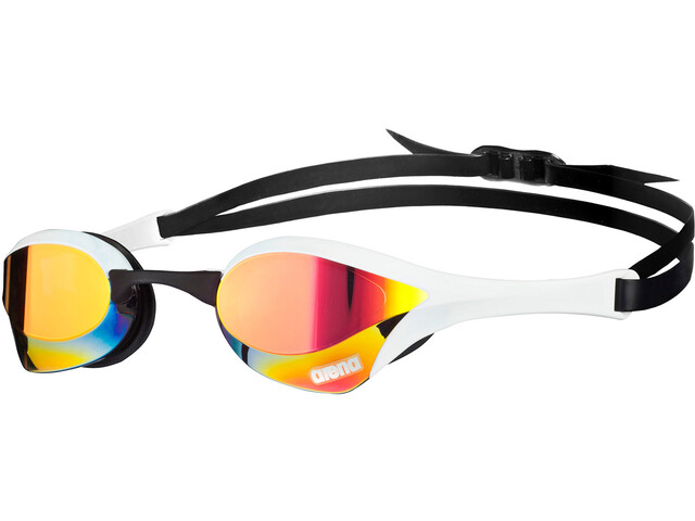 arena Cobra Ultra Mirror Goggles red revo-white-black